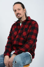 Load image into Gallery viewer, Vintage 90's Wrangler Shirt Flannel Workwear Red - M