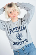Load image into Gallery viewer, Vintage USA Sweatshirt in Grey with Graphic Print - M