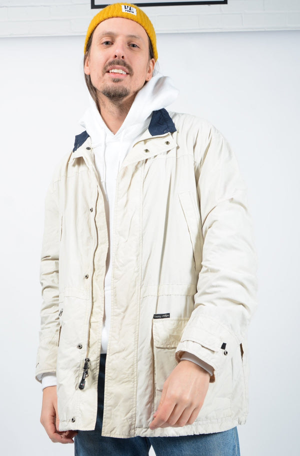 Vintage Tommy Hilfiger Jacket Cream - L