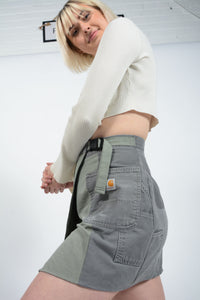 Reworked Dickies Utility Workwear Skirt - 27-32""