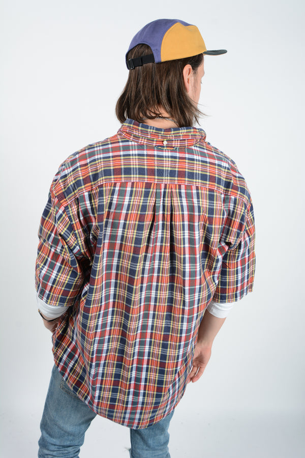Vintage Ralph Lauren Shirt Checks Brown - XL