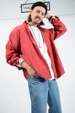 Load image into Gallery viewer, Vintage 90s Nautica Corduroy Oversized Shirt in Red  - XL