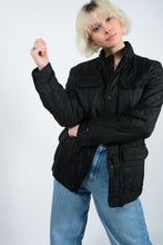 Load image into Gallery viewer, Vintage Tommy Hilfiger Outdoor Jacket in Black - M