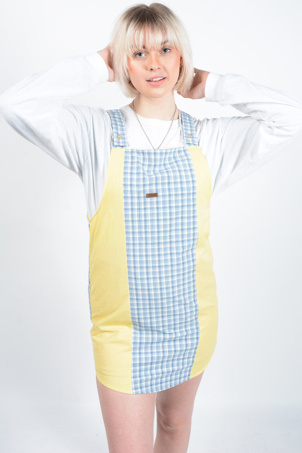 Reworked Carhartt Pinafore Dress - M