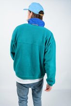 Load image into Gallery viewer, Vintage Fleece Jumper Relaxed Green - L