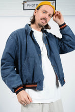 Load image into Gallery viewer, Vintage 90s Levi's Workwear Bomber Skater Jacket Blue  - XL