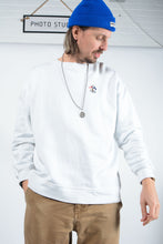 Load image into Gallery viewer, Vintage Ralph Lauren Sweatshirt in White with Embroidery - L