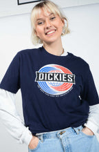 Load image into Gallery viewer, Vintage 90's Dickies T-shirt Logo Blue - M