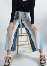 Load image into Gallery viewer, Vintage Bespoke Wide Leg Rework Trousers - UK16
