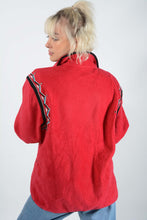 Load image into Gallery viewer, Vintage Fleece Zip up Jacket in Pink