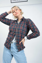 Load image into Gallery viewer, Vintage 90's Shirt Workwear Flannel Maroon - M