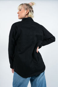 Vintage Dickies Workwear Jacket in Black - S