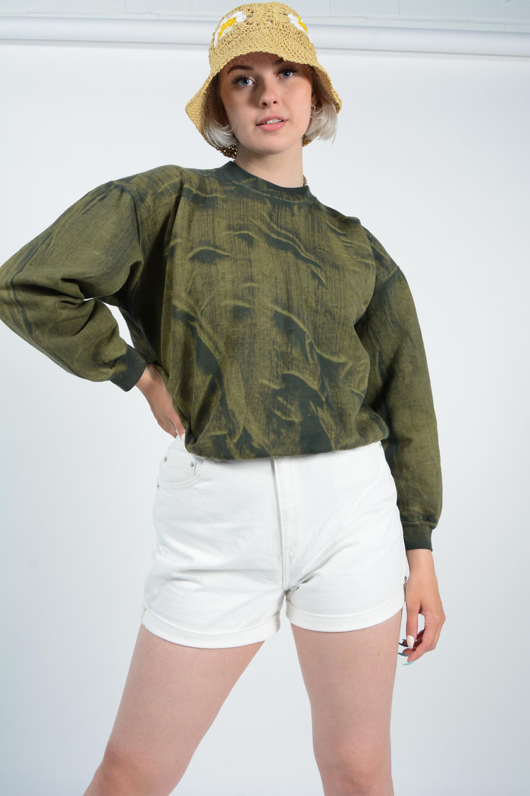 Vintage Dickies cropped shirt