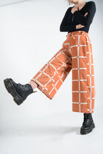 Load image into Gallery viewer, Bespoke handmade Wide Leg Trousers - UK10/12