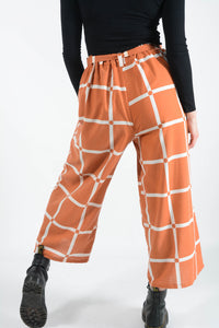 Bespoke handmade Wide Leg Trousers - UK10/12