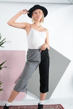 Load image into Gallery viewer, Reworked split casual trousers