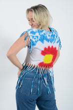 Load image into Gallery viewer, Reworked Hawaiian crop top