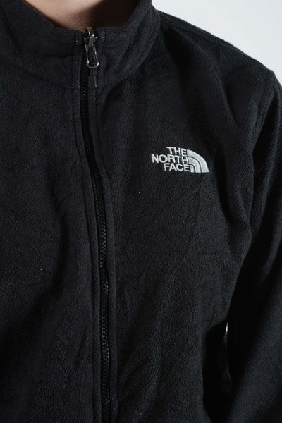 Vintage North Face Fleece in Black with Logo