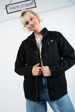 Load image into Gallery viewer, Vintage Dickies Workwear Jacket in Black - S