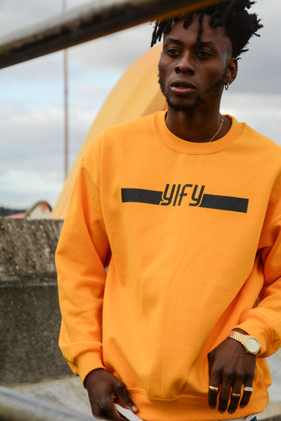 YIFY Stripe Screen Printed Sweatshirt (available in 3 colours)