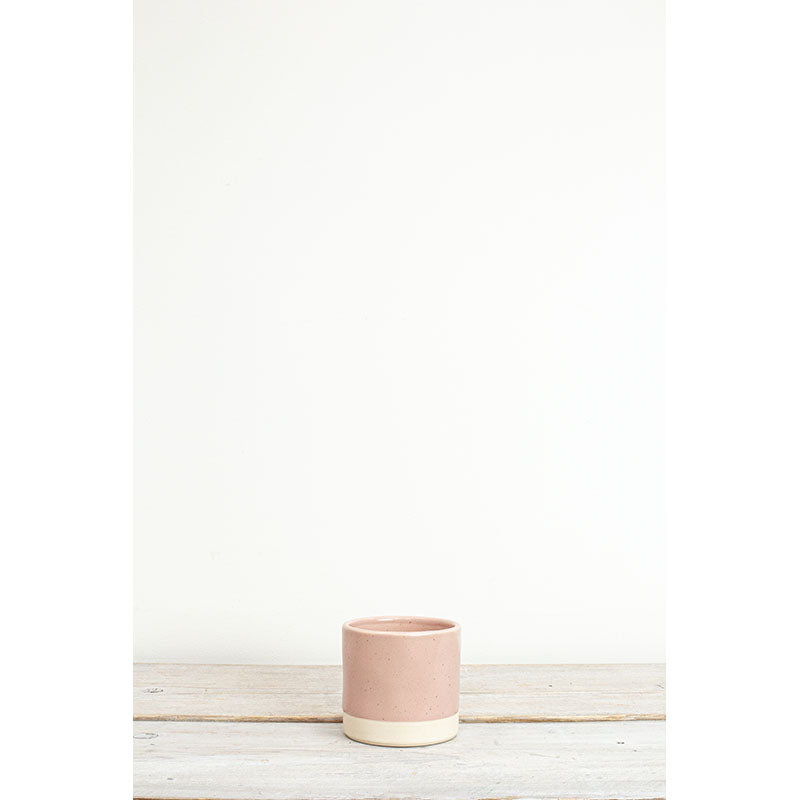 Blush Stoneware Pot