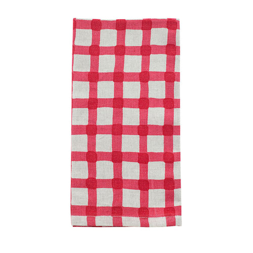 Watercolour Gingham Napkins