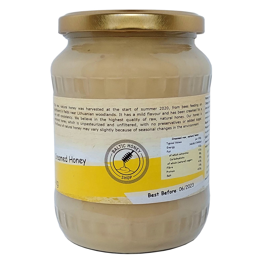 Raw Creamed Honey (1 kg)