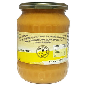 Raw Dandelion Honey (1 kg)