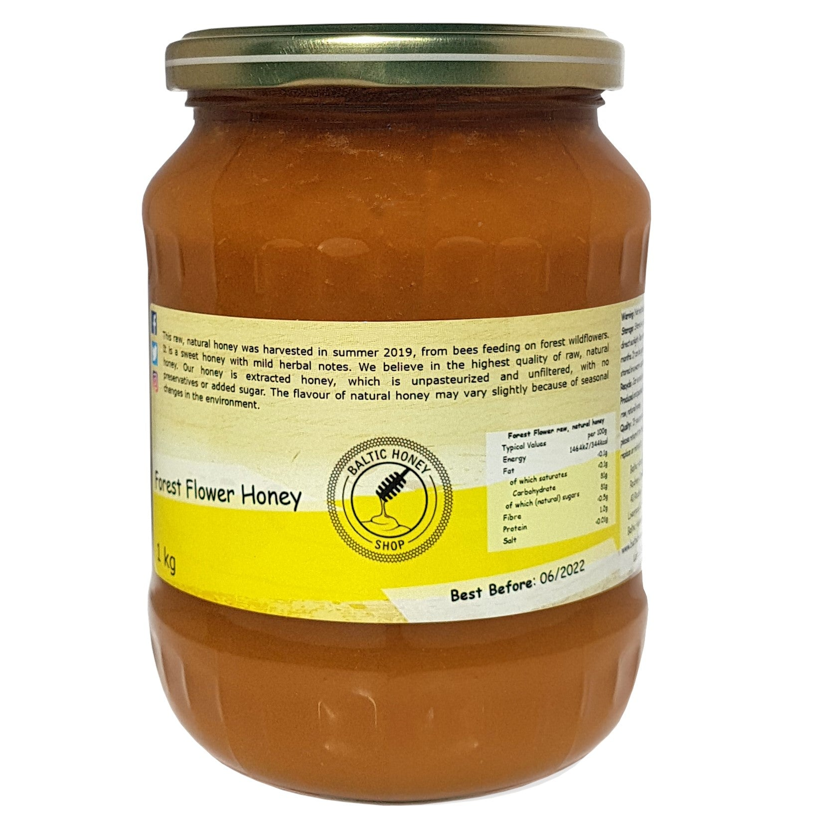 Raw Forest Flower Honey (1 kg)