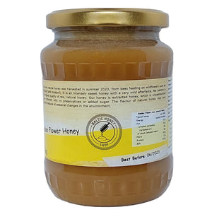 Raw Golden Flower Honey (1 kg)