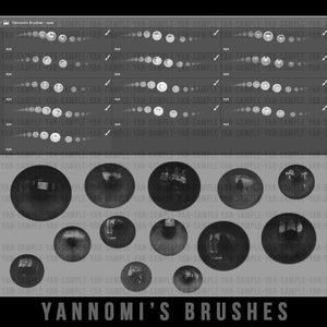 Yannomi's Brushes - eyes