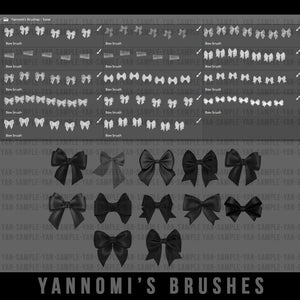Yannomi's Brushes - bows