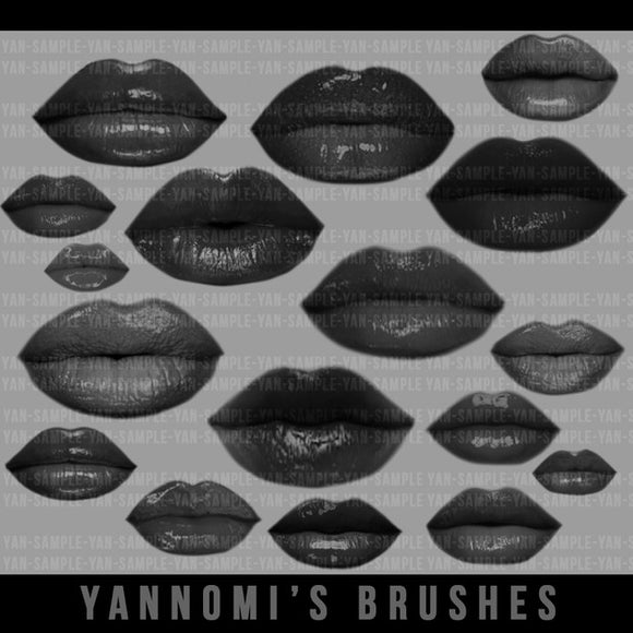 Yannomi's Brushes - lips