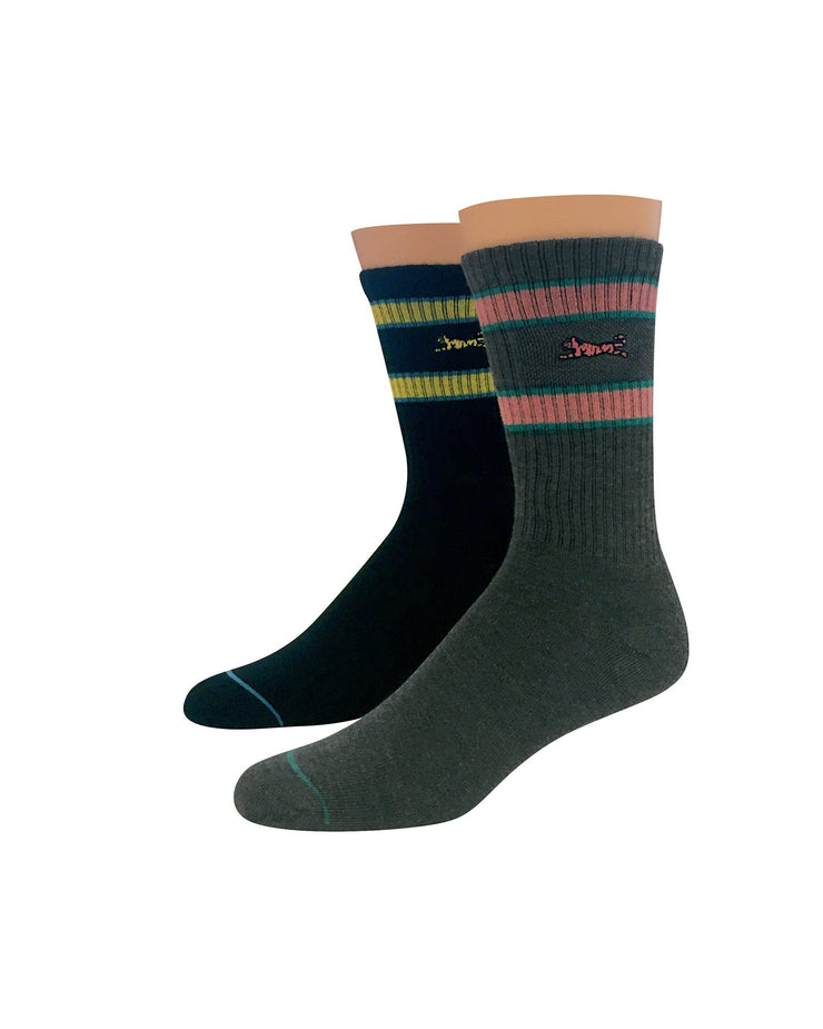 Energy 2pk Athletic Socks