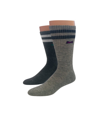 Heather 2pk Athletic Socks