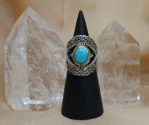 Blue Gypsy Ring