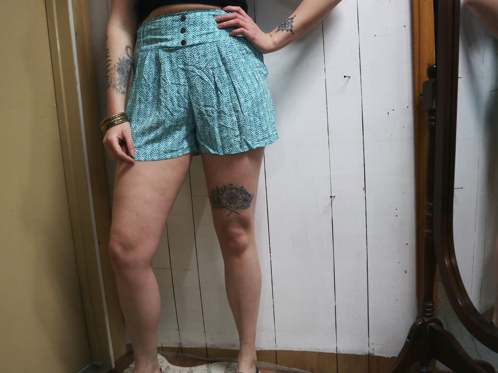 Coconut Button Shorts