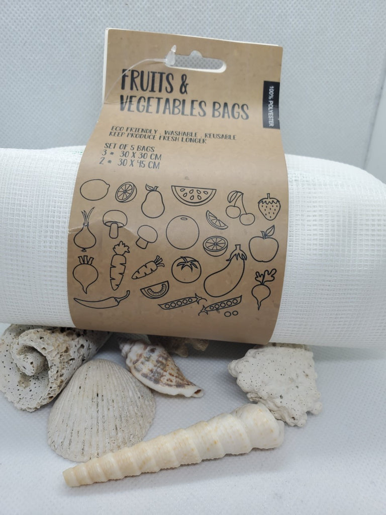 Re-Usable Fruits and Veggie Bags