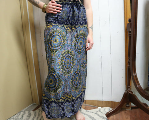 Patterned Skirt to Dress