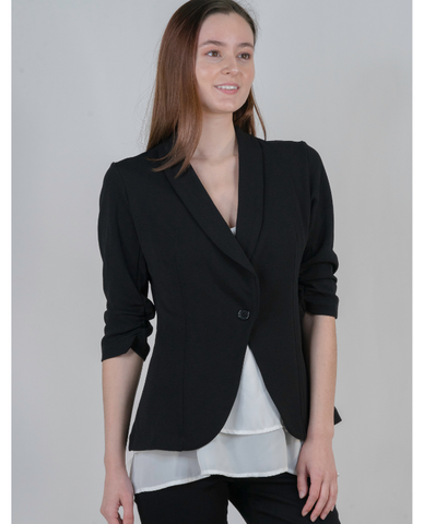 Black Blazer   Women's Business Outfit Ideas   Women's Blazers   Power Lunch Outfits   Conference Outfit Ideas   Women's Business Attire