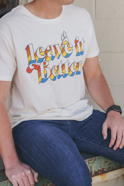 Leave it Better T-Shirt Vintage White