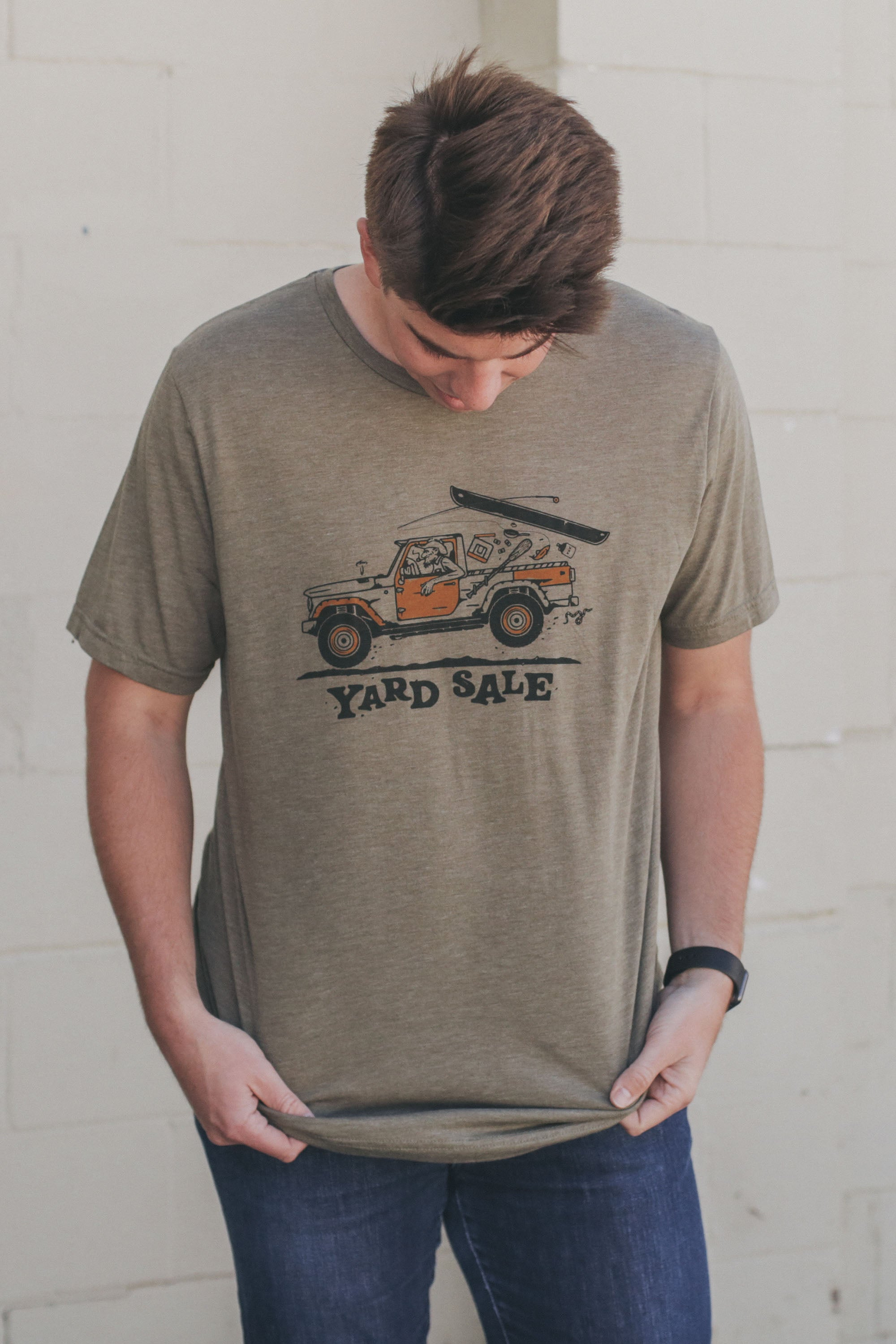 River Guide T-Shirt Olive Triblend