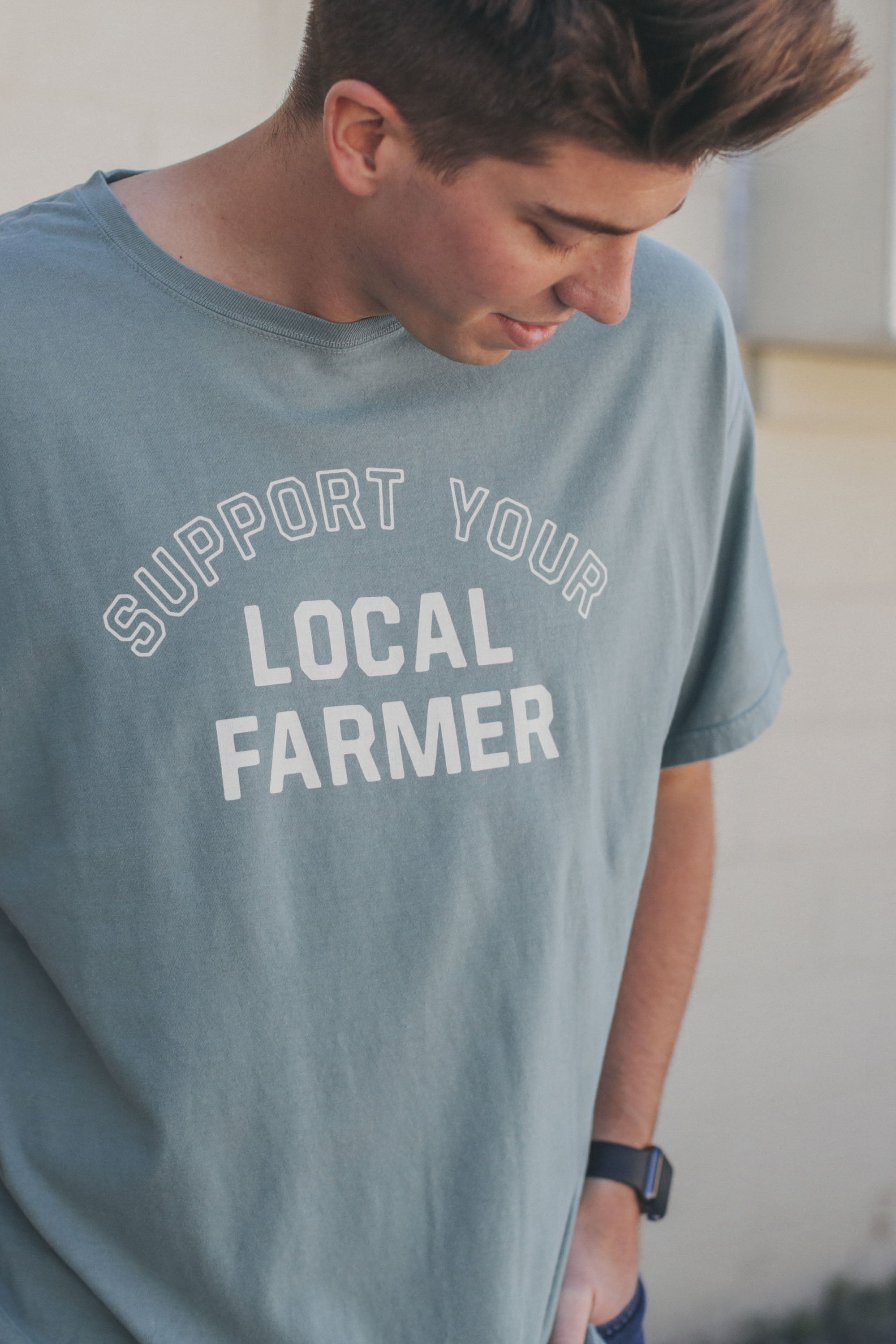 Support Local T-Shirt Cypress Green