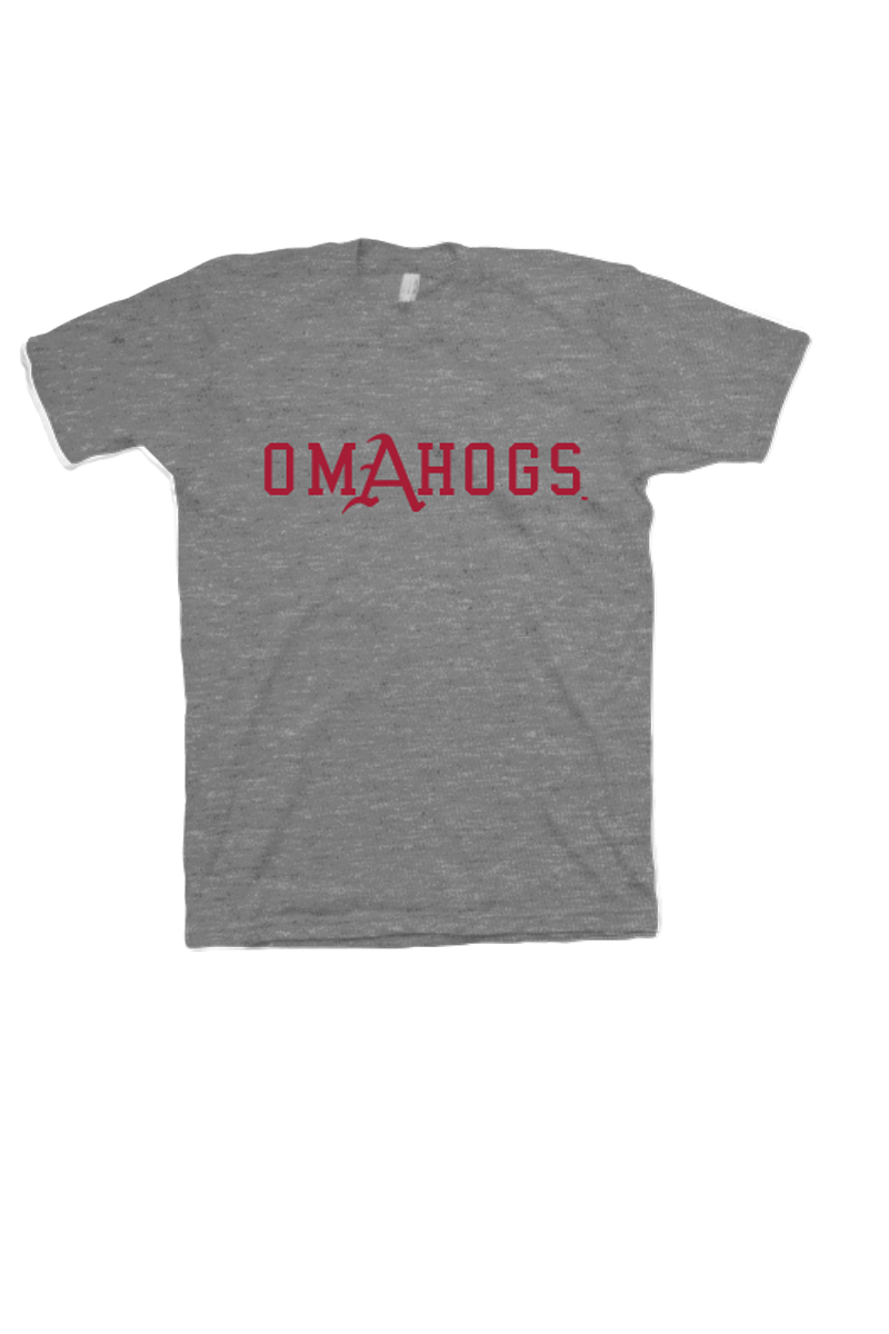 OmAhogs T-Shirt Grey Triblend