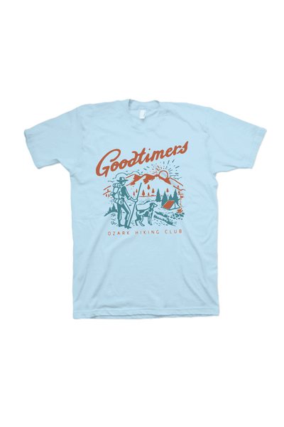 Goodtimers Ozarks T-Shirt Soothing Blue