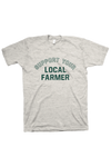 Support Local T-Shirt Oatmeal