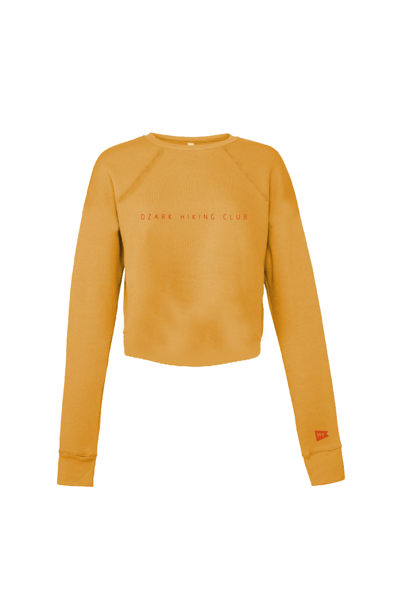 Ozark Hiking Club Sweatshirt Mustard