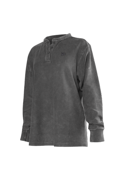 Natural Threads Henley Charcoal