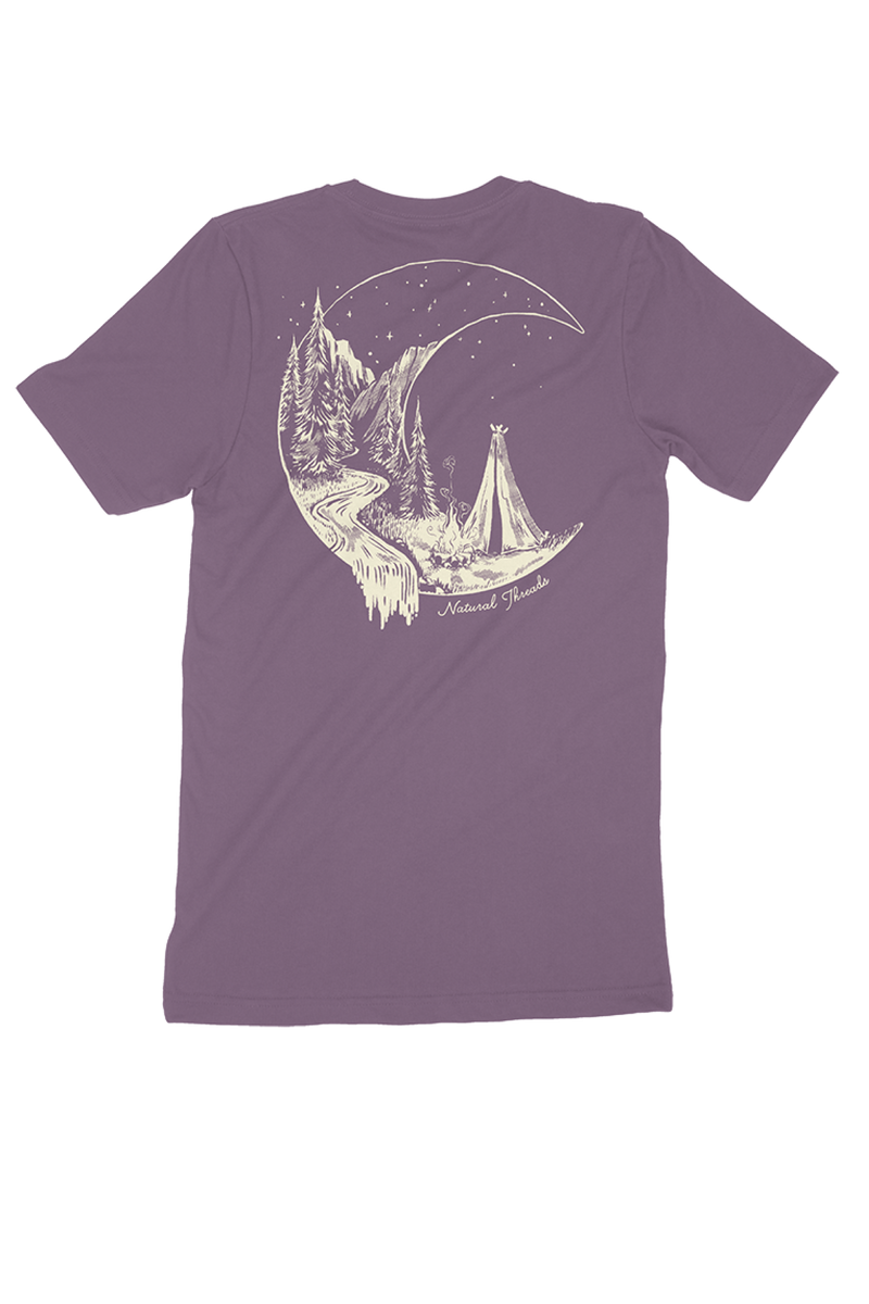 Moon T-Shirt Purple