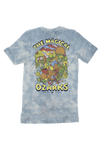 The Magical Ozarks Tie-Dye T-Shirt Light Blue
